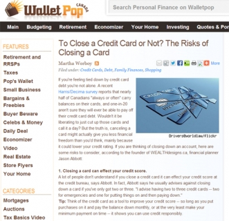 To Close a Credit Card or Not? The Risks of Closing a Card