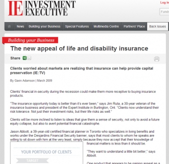 The new appeal of life and disability insurance