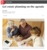 Get estate planning on the agenda